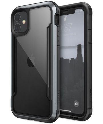 Raptic Shield Apple iPhone 11 Hoesje Zwart Hoesjes