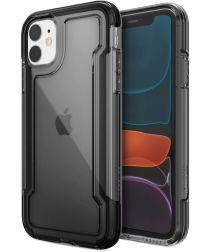 Raptic Clear Apple iPhone 11 Hoesje Transparant Zwart
