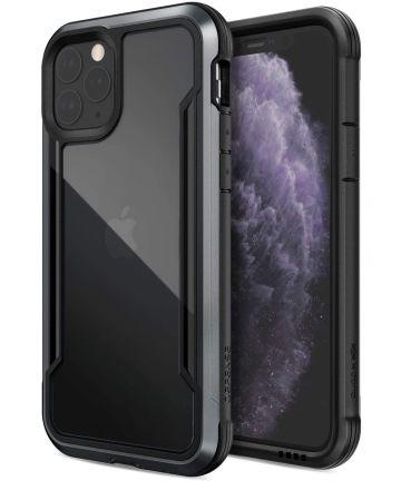 Raptic Shield Apple iPhone 11 Pro Hoesje Transparant/Zwart Hoesjes