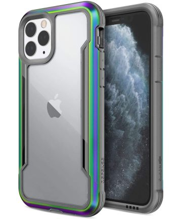 Raptic Shield Apple iPhone 11 Pro Hoesje Transparant/Iridescent Hoesjes