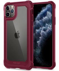 Spigen Gauntlet Apple iPhone 11 Pro Max Hoesje Rood
