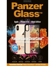 PanzerGlass iPhone X(S) ClearCase BlackFrame Transparant Hoesje