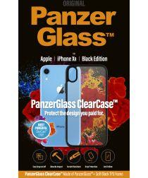 PanzerGlass iPhone XR ClearCase BlackFrame Transparant Hoesje