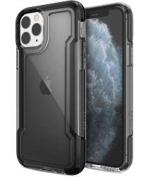Raptic Clear Apple iPhone 11 pro hoesje transparant zwart
