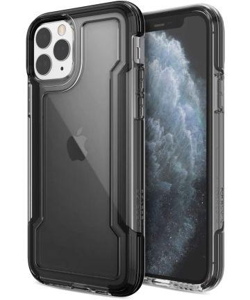Raptic Clear Apple iPhone 11 pro hoesje transparant zwart Hoesjes