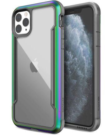 Raptic Shield Apple iPhone 11 Pro Max Hoesje Transparant/Iridescent Hoesjes