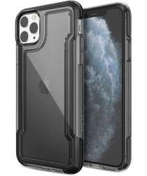Raptic Clear Apple iPhone 11 pro max hoesje transparant zwart