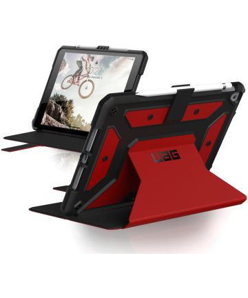 Urban Armor Gear Metropolis Case iPad 10.2 2019 / 2020 / 2021 Magma Hoesjes