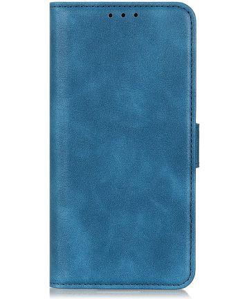 Nokia 6.2 / 7.2 Portemonnee Hoesje Blauw Hoesjes