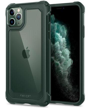 Spigen Gauntlet Apple iPhone 11 Pro Max Hoesje Groen Hoesjes