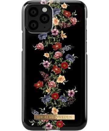 iDeal of Sweden Fashion Apple iPhone 11 Pro Hoesje Dark Floral Hoesjes