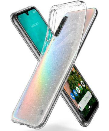 Spigen Liquid Crystal Xiaomi Mi A3 Glitter Transparant Hoesjes