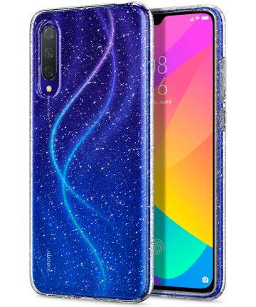 Spigen Liquid Crystal Xiaomi Mi 9 Lite Hoesje Glitter Crystal Quartz Hoesjes