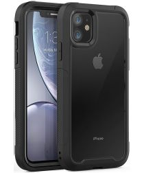Apple iPhone 11 Hoesje Hybride Full Protect Zwart