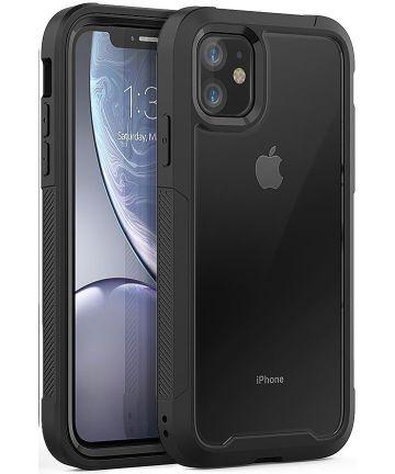 Apple iPhone 11 Hoesje Hybride Full Protect Zwart Hoesjes