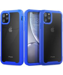 Apple iPhone 11 Pro Max Hybride Full Protect Hoesje Blauw