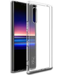 IMAK UX-5 Series Sony Xperia 5 Hoesje Flexibel en Dun TPU Transparant