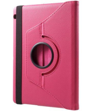 Huawei MediaPad T3 (10) 360° Draaibare Hoes Roze Hoesjes