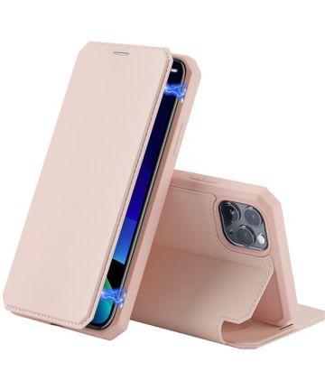 Dux Ducis Skin X Series Apple iPhone 11 Pro Max Flip Hoesje Roze Hoesjes