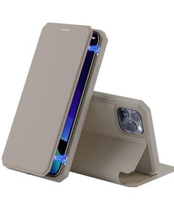 Dux Ducis Skin X Series Apple iPhone 11 Pro Max Flip Hoesje Goud Hoesjes