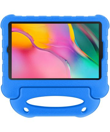 Samsung Galaxy Tab A 10.1 (2019) Kindvriendelijke Tablethoes Blauw Hoesjes