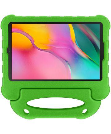 Samsung Galaxy Tab A 10.1 (2019) Kindvriendelijke Tablethoes Groen Hoesjes