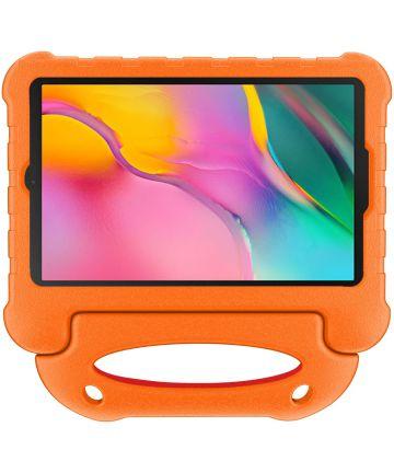 Samsung Galaxy Tab A 10.1 (2019) Kindvriendelijke Tablethoes Oranje