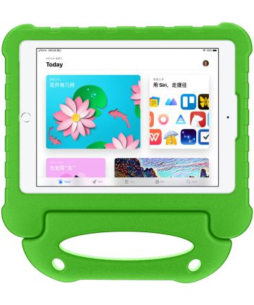 Apple iPad 2017 / 2018 / Air / Air 2 Kindvriendelijke Tablethoes Groen