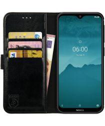 Rosso Element Nokia 6.2/ Nokia 7.2 Hoesje Book Cover Zwart