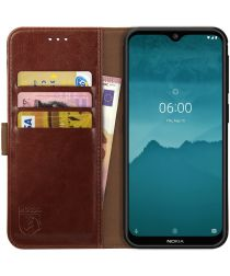 Rosso Element Nokia 6.2/ Nokia 7.2 Hoesje Book Cover Bruin