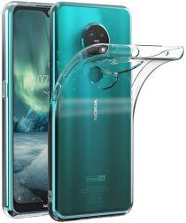 Nokia 6.2/Nokia 7.2 Hoesje Dun TPU Transparant