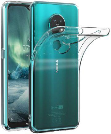 Nokia 6.2/Nokia 7.2 Hoesje Dun TPU Transparant Hoesjes