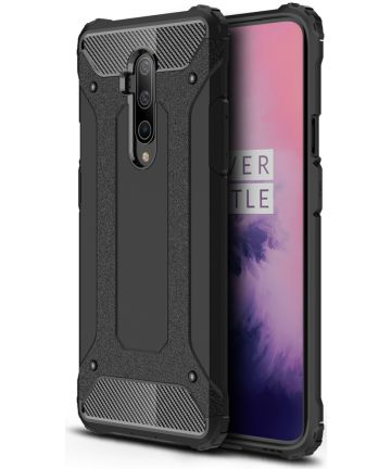 OnePlus 7T Pro Hybride Hoesje Zwart Hoesjes