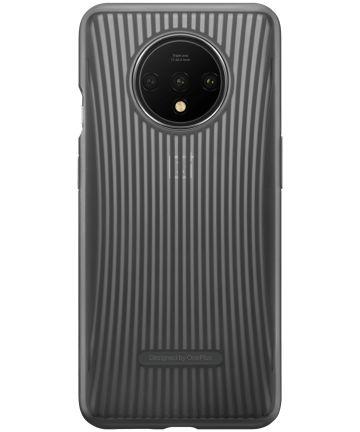 OnePlus 7T Cushion Hoesje Grijs Hoesjes