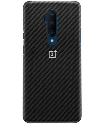 Originele OnePlus 7T Pro Protective Case Karbon Zwart Hoesjes