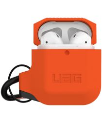 Urban Armor Gear Apple AirPods Hoesje Siliconen Oranje/Zwart