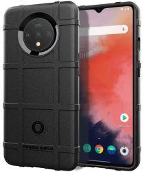 OnePlus 7T Anti-Shock TPU Backcover Zwart
