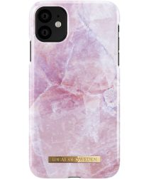 iDeal of Sweden Apple iPhone 11 Fashion Hoesje Pilion Pink Marble