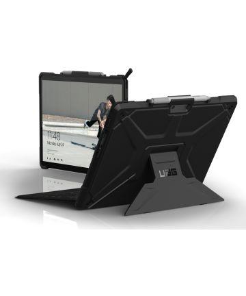 Urban Armor Gear Metropolis Microsoft Surface Pro X Hoes Zwart Hoesjes