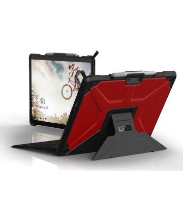 Urban Armor Gear Metropolis Microsoft Surface Pro X Hoes Magma Hoesjes