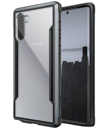 Raptic Shield Samsung Galaxy Note 10 Hoesje Transparant/Zwart Hoesjes