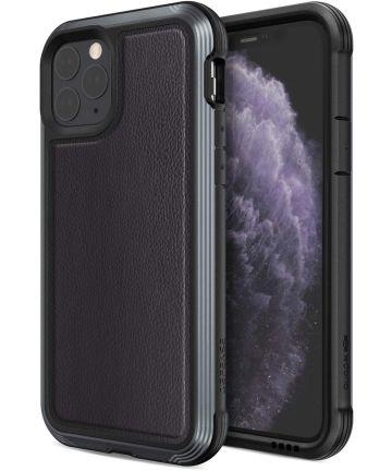 Raptic Lux Apple iPhone 11 pro hoesje leather zwart Hoesjes