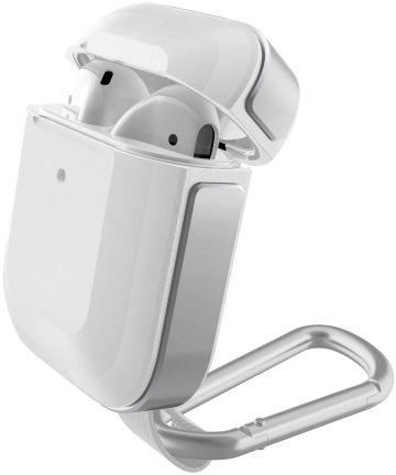 Raptic Trek Apple AirPods Hoesje Wit/Zilver Hoesjes