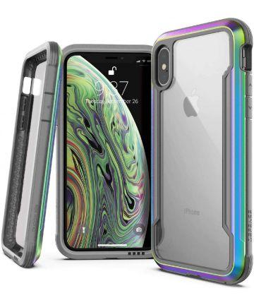 Raptic Shield Apple iPhone XS / X Hoesje Transparant/Iridescent Hoesjes