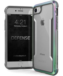 Defense Shield Apple iPhone SE 2020 Hoesje Iridescent Shockproof