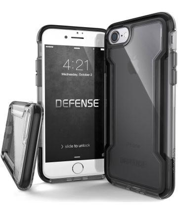 Raptic Clear Apple iPhone 8 7 hoesje transparant zwart Hoesjes