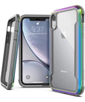 Defense Shield Apple iPhone XR Hoesje Iridescent Shockproof