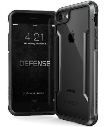 Raptic Shield Apple iPhone SE (2020) Hoesje Transparant/Zwart Hoesjes
