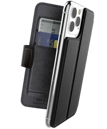 Raptic folio Air Apple iPhone 11 pro hoesje book case zwart Hoesjes
