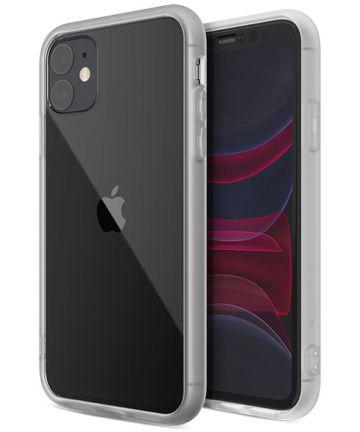 Raptic Glass Plus Apple iPhone 11 Hoesje Transparant Grijs Hoesjes